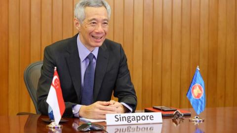 PM Lee sertai Sidang Puncak Asean menerusi video esok, Berita Setempat
