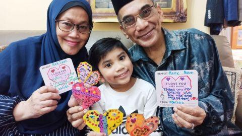 309,000 kanak-kanak hasilkan origami bagi sambut anggota keluarga tua, Berita Setempat