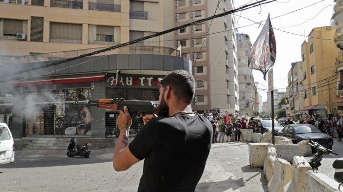 Aksi Protes di Beirut Berujung Fatal, Setidaknya 5 Pengunjuk Rasa Tewas Tertembak