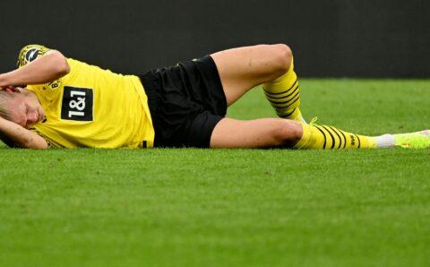 Kecederaan Haaland buat Dortmund resah