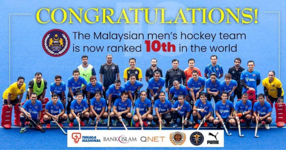 Malaysian Tigers menduduki ranking 10 dunia